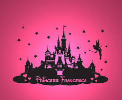 compare prices on princess castle decorations online shopping buy customer made personalized name princess castle wall sticker decal vinyl decor children bedroom you