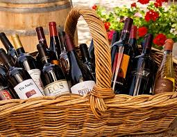 wine basket wineries and farmers trattoria grappolo