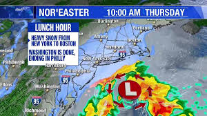 Map From New York To Boston by Northeast Prepares For Major Winter Storm Nbc New York