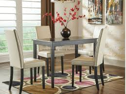kimonte ivory chairs 5 piece dining collection ashley d250
