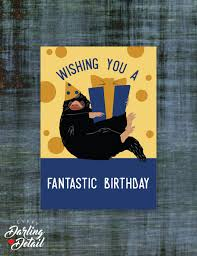 fantastic beasts harry potter inspired birthday card