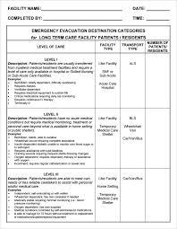 9 home evacuation plan templates free pdf documents download