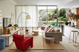 furniture living room design with accent lighting also glass