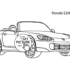 honda coloring pages 10 kids cars honda coloring