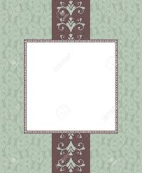 greeting card template in vintage style elements are grouped and