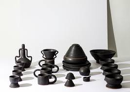 ria leigh u0027s pottery is part ancient part avant garde sight unseen