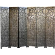 Gold Room Divider 6 Panel French Gold Room Divider