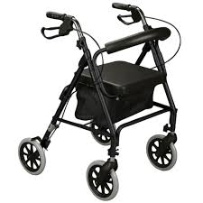 senior walkers with seat elderly walker transport aid rollator seat folding rolling