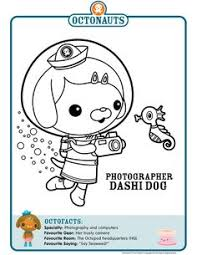 octonauts coloring pages octonauts printable coloring pages mewarnai party ideas