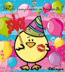 Imagenes De Feliz Cumpleaños Amor Animadas | tarjeta animada de cumpleaños para el novio amor pinterest la