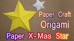 christmas star in paper how to make christmas star in paper