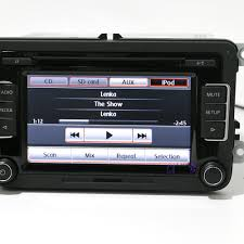 oe rcd510 car radio mp3 usb rear image for vw jetta golf mk5 6