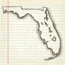 Map Of North Florida by Handdrawn Map Of Florida Stock Vector Art 166078433 Istock