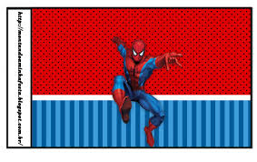 spiderman party free printable candy bar labels oh my fiesta