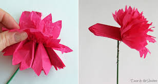 tissue paper flowers diy tissue paper flowers tutorial decor by the seashore