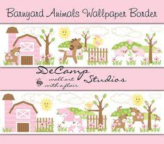 ladybug and bumble bee wallpaper border wall decals for baby