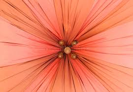 Umbrella Ceiling Light A Fabric Covering A Ceiling Light Stock Photo Image 28549622