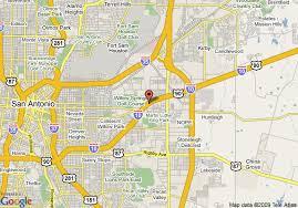 San Antonio Comfort Inn Suites Map Of Comfort Inn U0026 Suites Near The At U0026t Center San Antonio