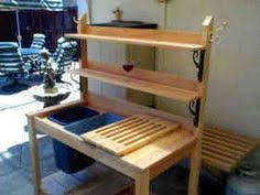 awesome potting bench plans bench plans pallets and gardens