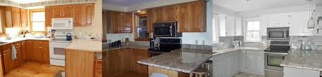 pictures of kitchen designs with oak cabinets our oak kitchen makeover