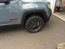 jeep renegade stance got my snow tires jeep renegade forum