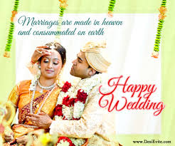 wedding wishes kannada marriage are made in heaven and consumed on earth happy wedding