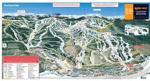 Bad Gastein Skigebiet Pistenplan Vail