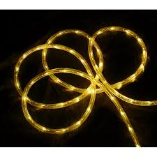 18 yellow led indoor outdoor rope lights 2 bulb