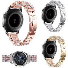 rhinestone bands bling diamond for samsung galaxy gear s3 classic rhinestone
