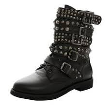 black friday amazon shoes guoar women u0027s big size shoes buckle ankle rivet boots punk studded