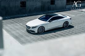 mercedes white ag luxury wheels mercedes benz s63 amg coupe forged wheels