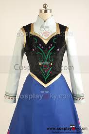 Princess Anna Halloween Costume 2013 Film Frozen Princess Anna Cosplay Costume Frozen Cosplay