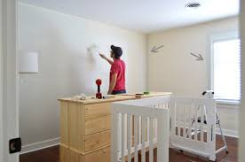 a soft neutral paint color for the nursery young house love