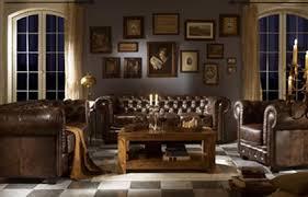 canapé cuir anglais chesterfield décoration salon style anglais chambre bureau fond