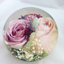wedding flowers paperweight your memories of your bridal bouquet encapsulated forever within a