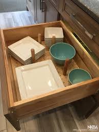 kitchen cabinet drawer peg organizer peg board drawer organizer nkba