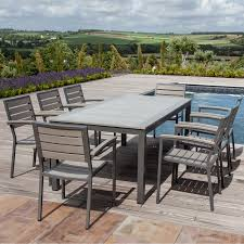 8 Seater Patio Table And Chairs Image Is Loading Wooden Garden Furniture 8 Seat Patio Set 2017
