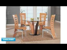 modern dining room table and chairs design modern dining table furniture sets youtube