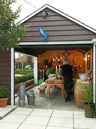 Garage Door Conversion To Patio Door The Conversion From Garage To Outdoor Entertaining Room Took Only