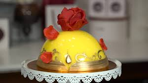 video enchanted rose cake inspired by u0027beauty and the beast