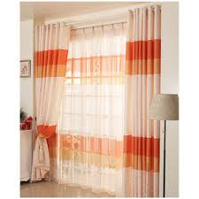 indian like burnt orange curtains for home decor good curtains