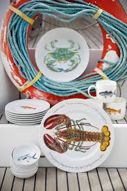 Nautical Themed Dinnerware Sets - dishes bowls and trays the dockshop