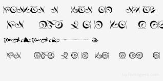 hoeflertext fleurons regular for free view sle text