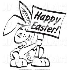royalty free stock easter designs of bunny rabbits