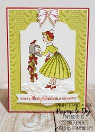 prepare to dye papercrafts christmas in the making stampin up