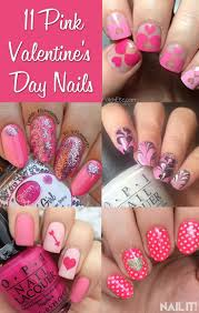 95 best valentine u0027s day nails images on pinterest valentine day