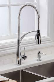 Best Kitchen Faucet Brands Premier 120333 Essen Single Handle Commercial Style Pull Down
