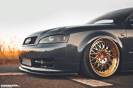 slammed audi wagon gold status josh u0027s fitted audi a4 stancenation form