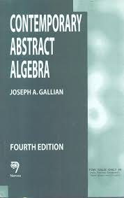 contemporary abstract algebra fourth edition 650pp pb 4th edition