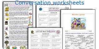 english teaching worksheets conversation
